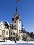 The gardens at The Peles Castle, Romania Stock Photos