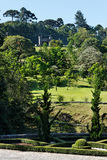 Gardens and Portal in Rio Grande do Sul Royalty Free Stock Image