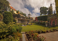 The Gardens at Portmeirion Royalty Free Stock Photography
