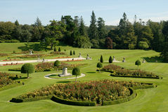The Gardens at Powerscourt, the Italian garden Stock Photos