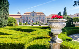 Gardens of Queluz Royalty Free Stock Images