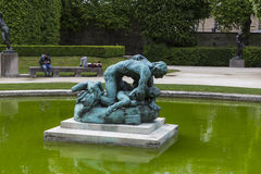 In the gardens of the Rodin musem, Paris, France Stock Image