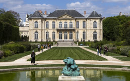 In the gardens of the Rodin musem, Paris, France stock photo
