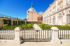 Gardens in The Royal palace of Aranjuez, Madrid, Spain. Stock Photo