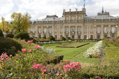 Gardens and The Royal Palace of La Granja de San Ildefonso Stock Photos
