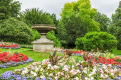 Gardens at Royal Victoria Park, Bath, England Royalty Free Stock Photo