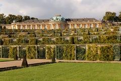 Palace at Sanssouci Royalty Free Stock Photos