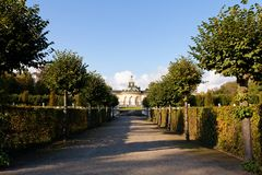 Hedges at Sanssouci Royalty Free Stock Image