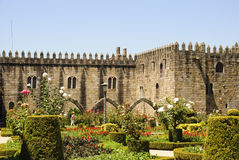 Gardens of Santa Barbara, Braga Stock Image