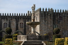 Gardens of Santa Barbara, Braga Royalty Free Stock Photos