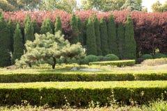 Gardens scenery Royalty Free Stock Photo
