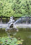 Gardens of Schonbrunn Palace. royalty free stock photography