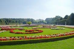 Gardens at Schonbrunn Palace Vienna Stock Photography