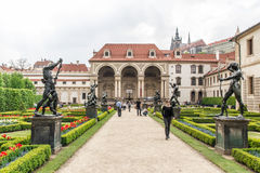 Gardens of the Senate in Prague Royalty Free Stock Photography