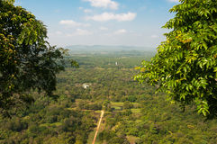 The gardens of Sigiriya Stock Image