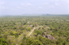 The gardens of Sigiriya, Sri Lanka Stock Photography