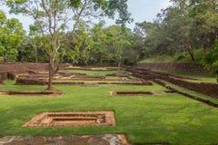 The gardens of Sigiriya Stock Photography
