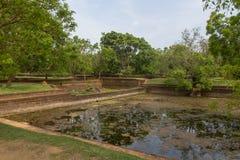 The gardens of Sigiriya Stock Photos