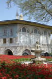 In the gardens of Topkapi Palace in Istanbul Stock Photos