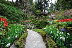 Gardens trail Stock Photos