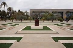 Gardens of the Universidad Miguel Hernández de Elche. Elche, Spain. March 17, 2016: gardens of the Universidad Miguel Hernández de Elche stock image