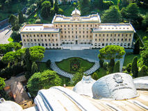 Gardens of Vatican City Stock Photography