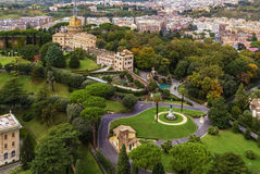 Gardens of Vatican City Royalty Free Stock Photos