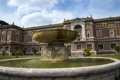 The Gardens of the Vatican Museums in Rome Italy. Rome Italy, the Eternal city, which has been a destination for tourists since the times of the Roman Emperors Royalty Free Stock Images