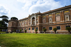 The Gardens of the Vatican Museums in Rome Italy. Rome Italy, the Eternal city, which has been a destination for tourists since the times of the Roman Emperors Stock Image