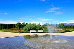 Gardens venaria real Royalty Free Stock Image