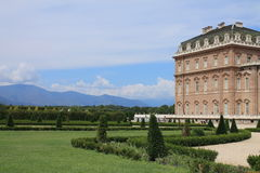 Gardens of Venaria Reale Royalty Free Stock Photo