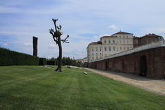 Gardens of Venaria Reale Stock Photos