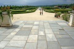 Gardens of venaria Stock Photography