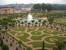 Gardens of Versailles Stock Photo