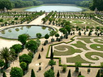 Gardens of Versailles stock images