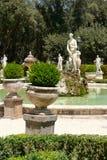 Gardens at Villa Borghese in Rome Stock Photos