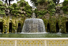 Gardens of Villa d'Este in Tivoli - Italy Royalty Free Stock Photos