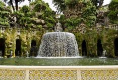 Gardens of Villa d'Este in Tivoli - Italy Royalty Free Stock Photos
