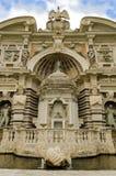 Gardens of Villa d'Este in Tivoli - Italy Stock Photography