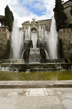Gardens of Villa d'Este in Tivoli - Italy Royalty Free Stock Images
