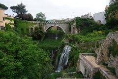 The gardens of Villa D'este. Tivoli, Italy Stock Photography