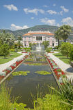 The Gardens and Villa Ephrussi de Rothschild, Saint-Jean-Cap-Ferrat, France Royalty Free Stock Image