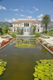 The Gardens and Villa Ephrussi de Rothschild, Saint-Jean-Cap-Ferrat, France Royalty Free Stock Photography