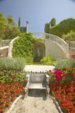 The Gardens and Villa Ephrussi de Rothschild, Saint Jean Cap Ferrat, France Royalty Free Stock Image