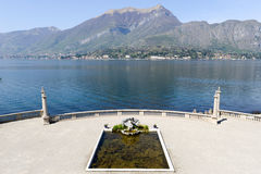 Gardens of Villa Melzi on Lake Como Stock Image