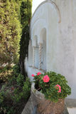 The gardens of the Villa San Michele Royalty Free Stock Image