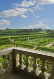Gardens of Villandry Royalty Free Stock Photo