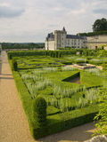 Gardens of Villandry Stock Photography