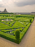 Gardens of Villandry Stock Photos