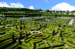 Gardens of Villandry - France Royalty Free Stock Photography
